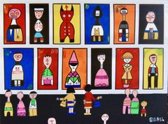 The Alexander Girard Museum, Painting, Acrylic on Canvas
