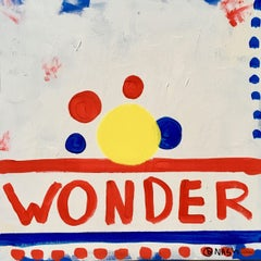 Wonder dots, Painting, Acrylic on Canvas