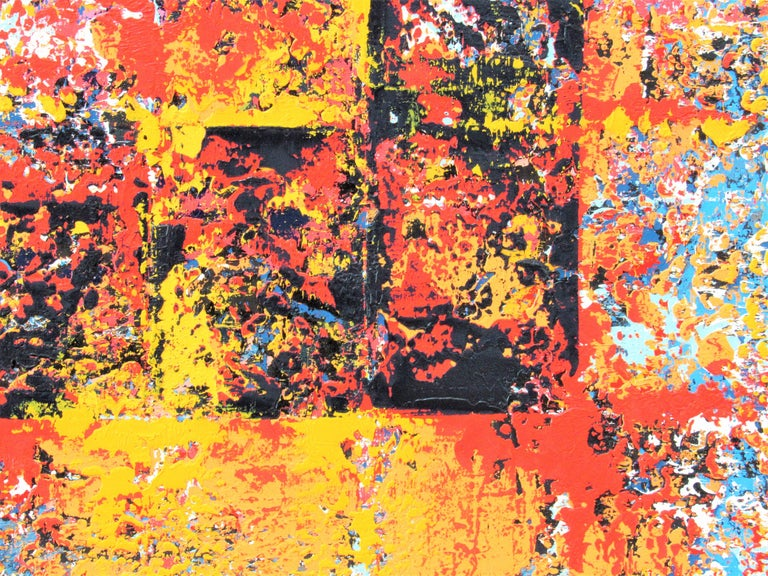 Oil on Canvas: 'Defiance' - Painting by Brian Neish
