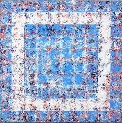 Rapture - contemporary blue white