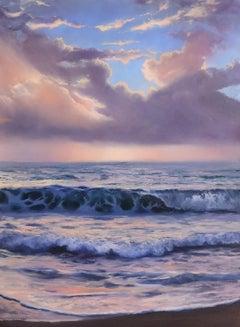 """""""Awaken,"""" Oil Painting"""