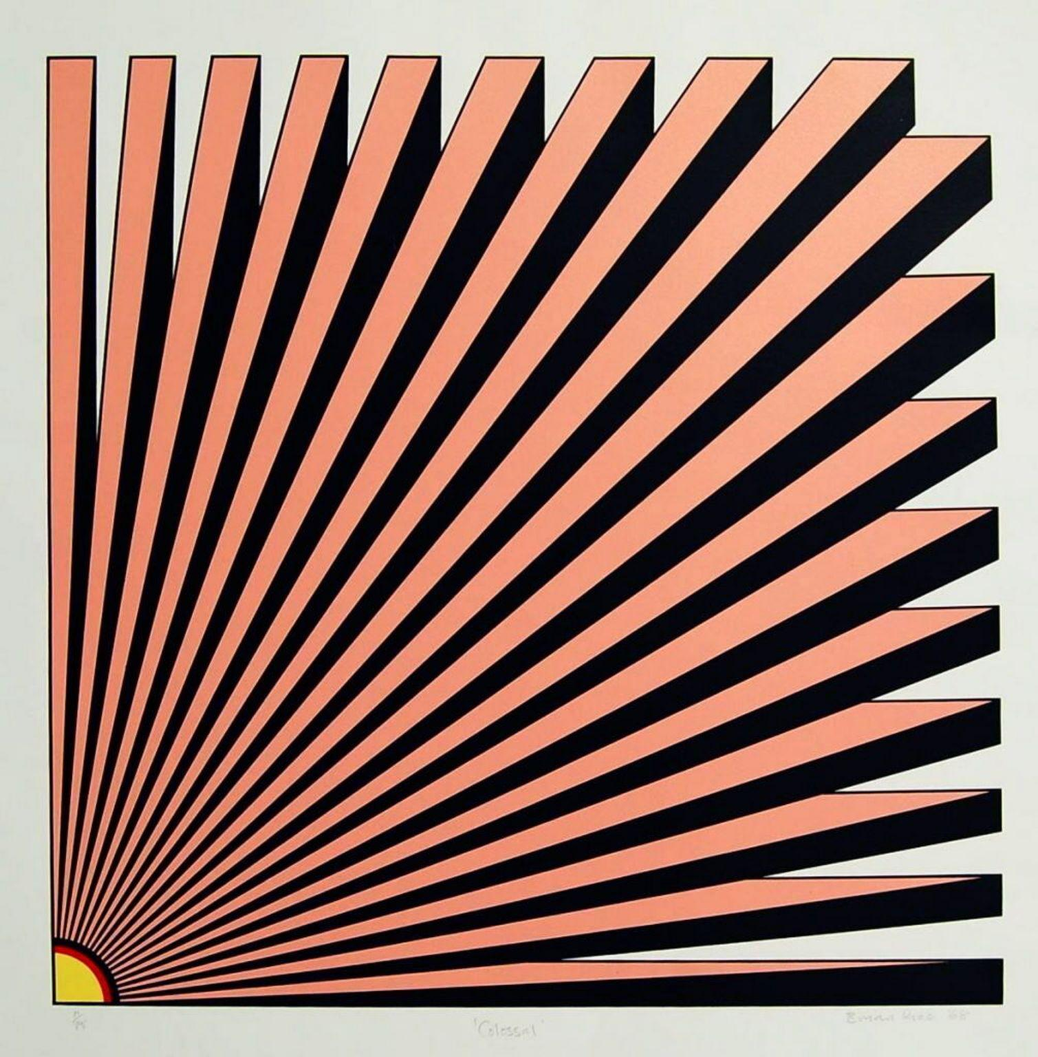 Colossal, 1967 Limited Edition Silkscreen, Brian Rice