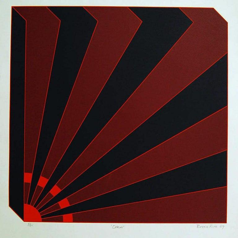 Brian Rice Landscape Print - Odeon