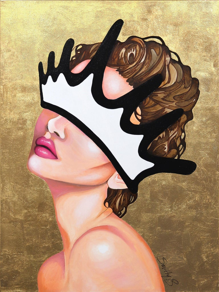 Brian Smith Figurative Painting - Golden Aristocrat