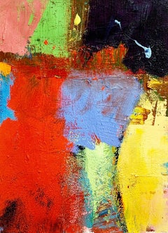 """Kokadjo"", Contemporary, Abstract, Painting, Minimalist, Composition, Texture"