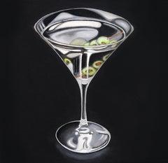 Spotlight - Martini Glass Original Painting