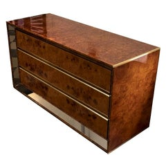 Briar-Root Cabinet by Romeo Rega, Italy, Early 1980s