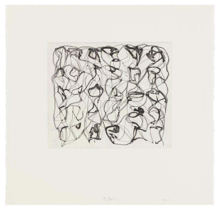 Brice Marden Abstract Print - #8