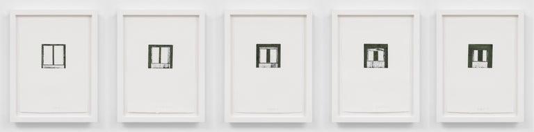 Focus I-V - Print by Brice Marden