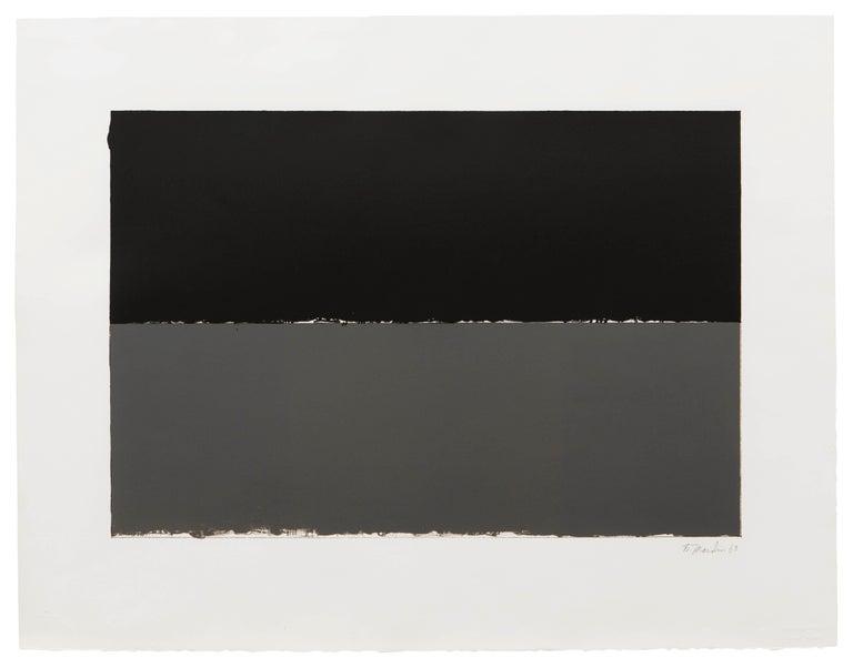 Brice Marden Abstract Print - Gulf