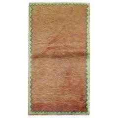 Brick Red Turkish Modernist Carpet