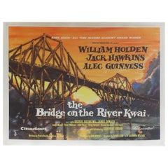 Bridge on the River Kwai, the 1963r Poster