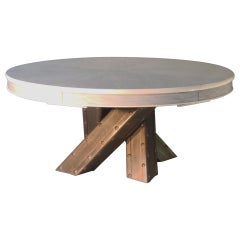 """Bridge Table"" Expanding table homage to San Francisco Bridge's"