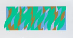 Leap - Bridget Riley, Abstract Art, Op Art, Contemporary Art