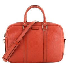 Bright Convertible Briefcase Diamante Leather Medium