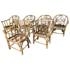 Brighton Pavilion Style Dining Chairs - Set of 6