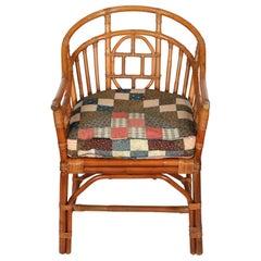 Brighton Pavillion Rattan Chinese Arm Chair