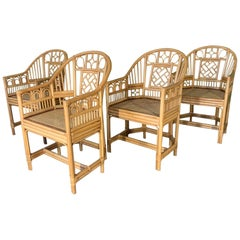 Brighton Pavillion Style Dining Chairs, Set of 4