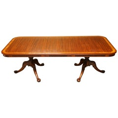 Brights of Nettlebed Chippendale Claw & Ball Extending Mahogany Dining Table