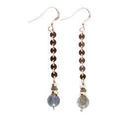 Brilliance Labradorite Earrings