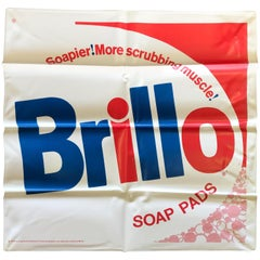 Brillo Pillow with Original Documentation