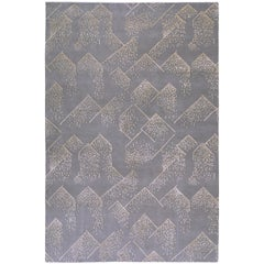 Brink Rug in Hand Knotted Wool and Silk by Kelly Wearstler