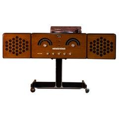 Brionvega RR126 Stereo System by Achille & Pier Giacomo Castiglioni, Italy, 1965
