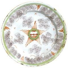 Bristol Delftware Unusual Star Plate