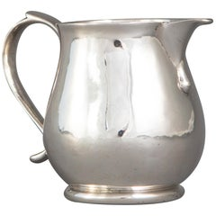 Britannia Silver George I Sparrow Beak Cream Jug, London, 1718