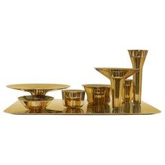Modern Silver Gilt Surtout De Table Designed by Barber & Osgerby for Mallett