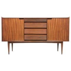 British Afromosia Teak Sideboard by Richard Hornby for Fyne Ladye, Midcentury