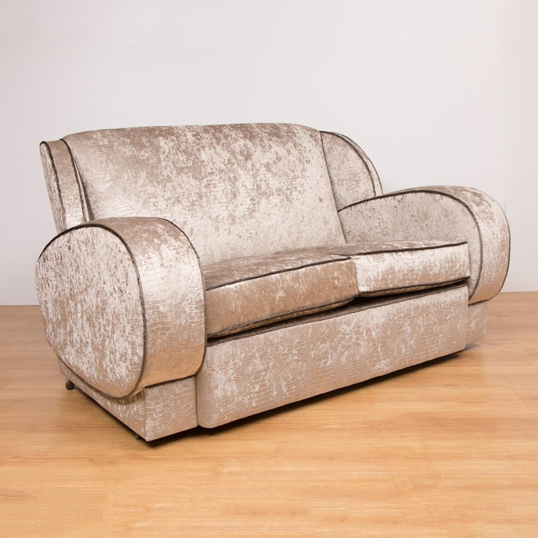 Original Art Deco sofa.