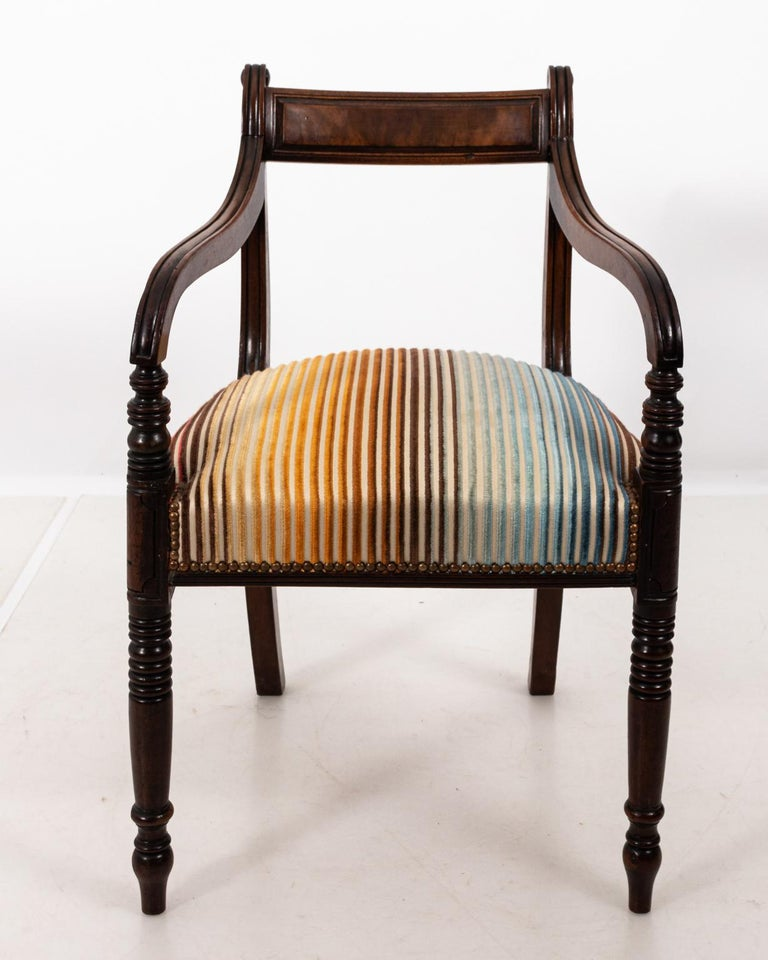 British Colonial Accent Armchair, circa 1850s For Sale at ...