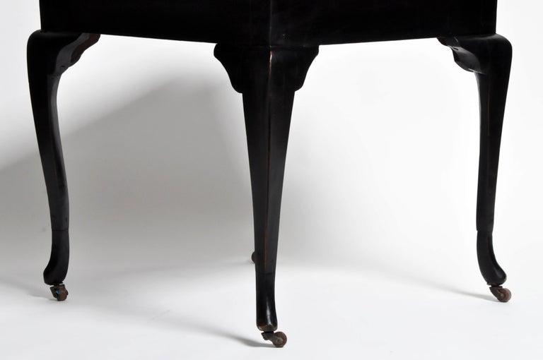 British Colonial Art Deco Tea Table For Sale 7