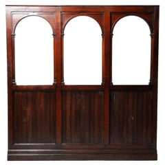 British Colonial Teak Wood Room Divider