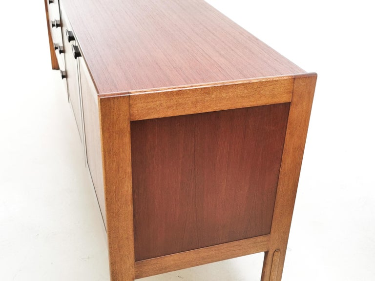 Mid-Century Modern British Everest Midcentury Teak Sideboard, 1960s For Sale