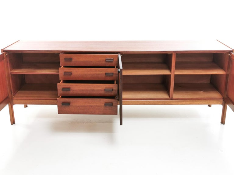 British Everest Midcentury Teak Sideboard, 1960s In Good Condition For Sale In STOKE ON TRENT, GB