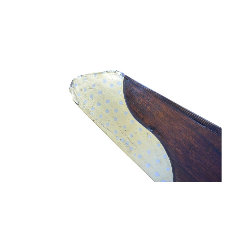 British Four-Blades Propeller Made of Laminated Wood WWI For Sale 6
