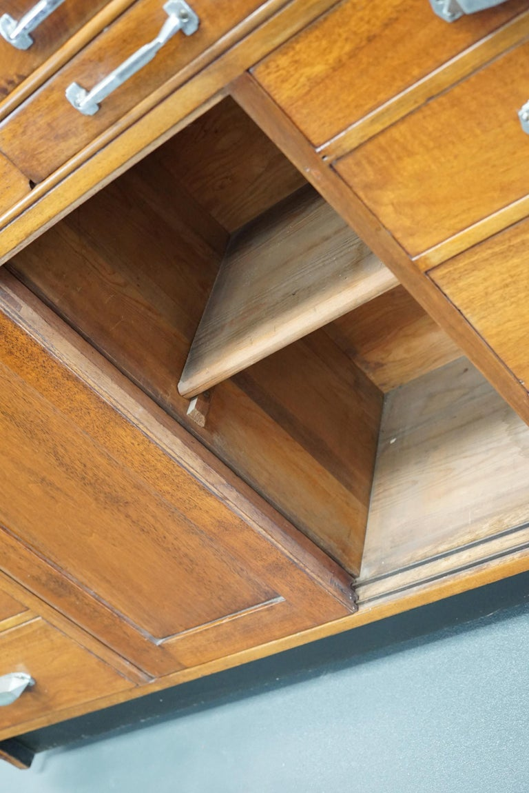 British Mahogany Haberdashery Cabinet or Shop Counter, 1930s For Sale 4