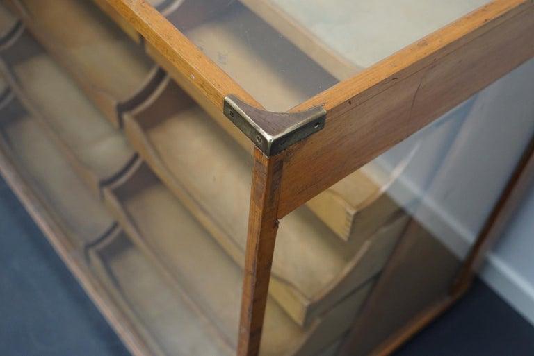 British Maple Haberdashery Cabinet or Shop Counter, 1930s 8