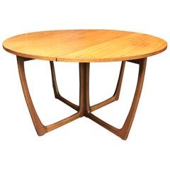 British Midcentury Teak Dining Table by Beithcraft