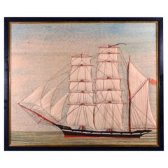 British Sailor's Woolwork or Woolie of the Barque Polly