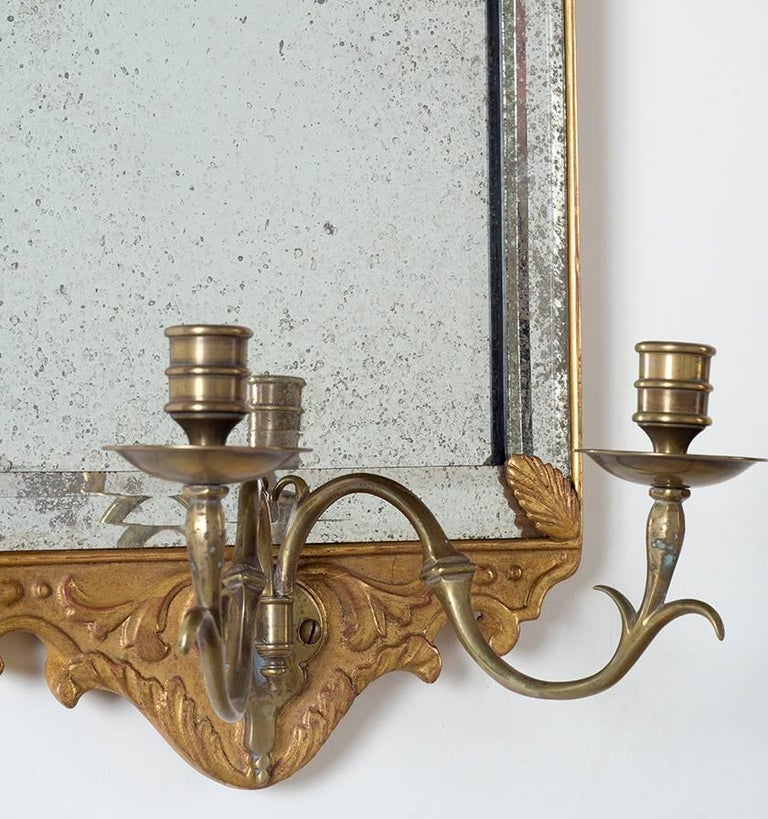 British Colonial British Stately Homes Sconce Collection Pair For Sale