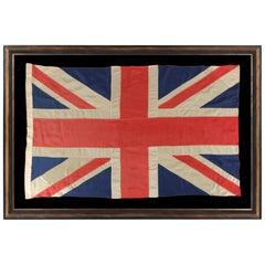 British Union Jack of the WWI-WWII Era, Made by John Edgington