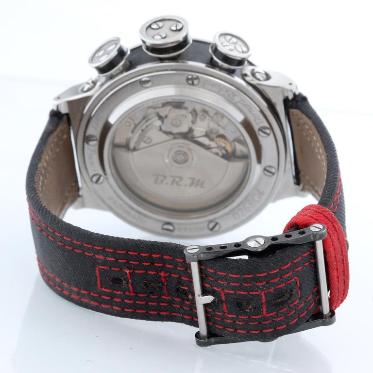 B.R.M. Ringmaster Men's Automatic Watch Ref V16-46-AJ In Excellent Condition For Sale In Dallas, TX