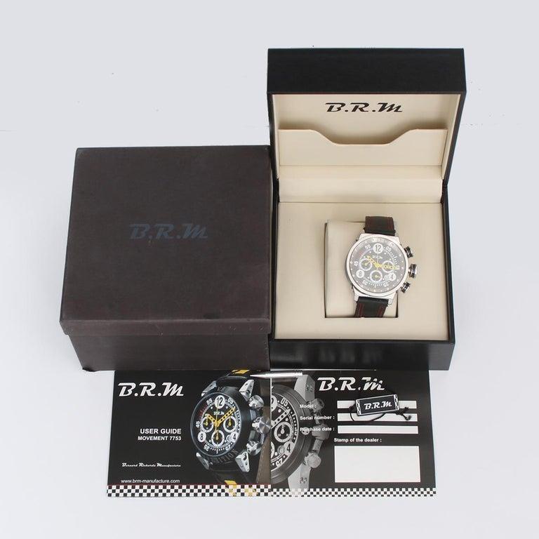 B.R.M. Ringmaster Men's Automatic Watch Ref V16-46-AJ For Sale 2