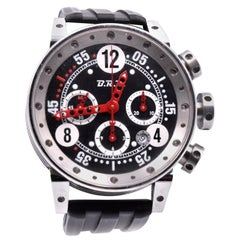 B.R.M Stainless Steel Chronograph Watch Ref. V12