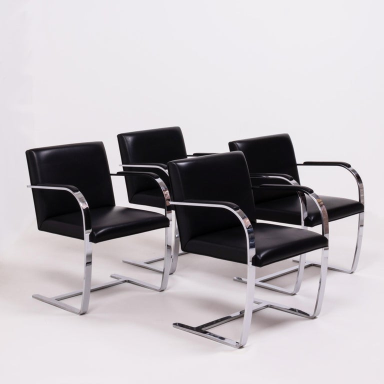 Originally designed by Mies van der Rohe in 1930 for his House in Brno, Czech Republic, the Brno chair remains a design icon.