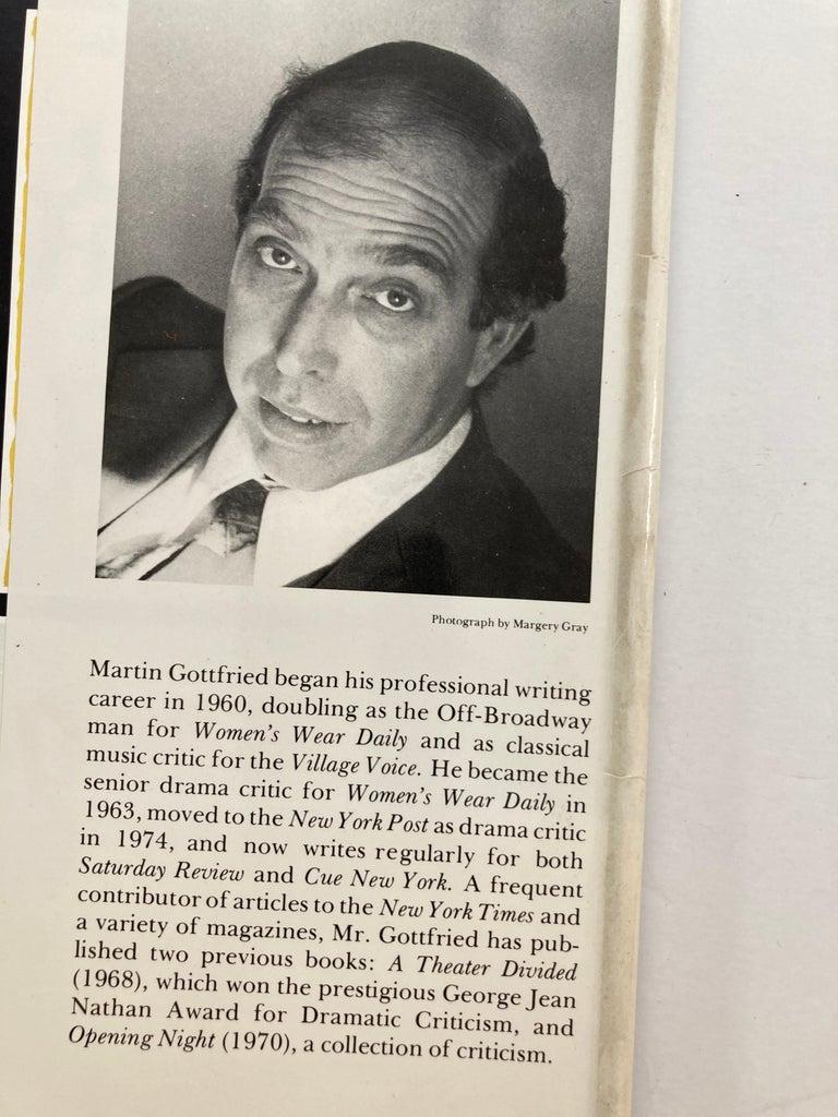 Broadway Musical Martin Gottfried 1979 Hardcover Book 7