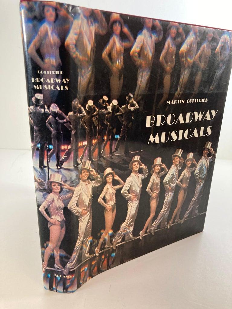 American Broadway Musical Martin Gottfried 1979 Hardcover Book